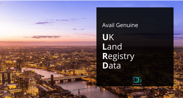 Avail Genuine UK Land Registry Data