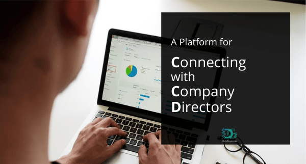 connecting with company director