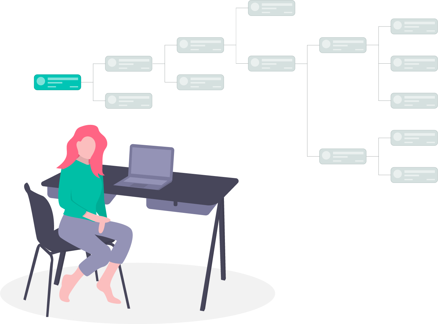 How are director connected?