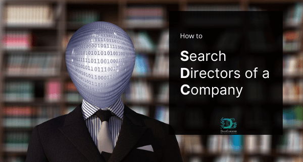 how to search director of a company
