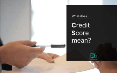 What does Credit Score mean?