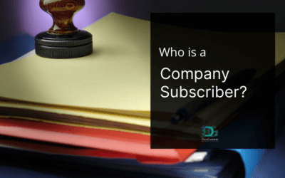 Who is a Company Subscriber?