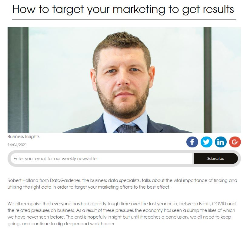 target your marketing