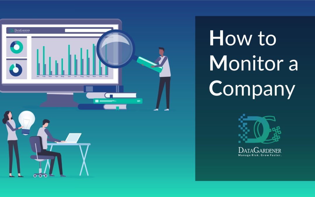 How to monitor a company
